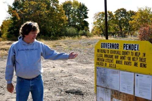 David DeKok - Governor Rendell Sign