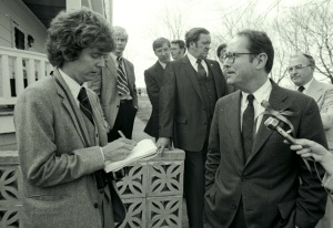 David DeKok interviews Gov. Dick Thornburgh, 3-31-1981 (David Haupt)
