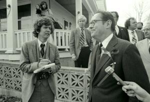 David DeKok interviews Gov. Dick Thornburgh, 3-31-1981 (David Haupt)
