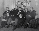 Cornell students, ca 1903. Hulbard Papers, Cornell University Rare & ManuscriptCollections.