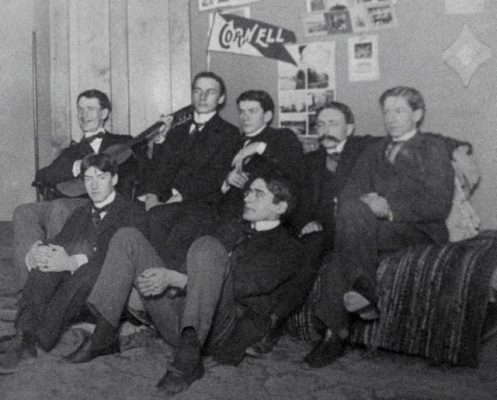 Cornell students, ca 1903. Hulbard Papers, Cornell University Rare & Manuscript Collections.