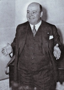 Howard C. Hopson appears before the Senate Banking Committee in 1933.