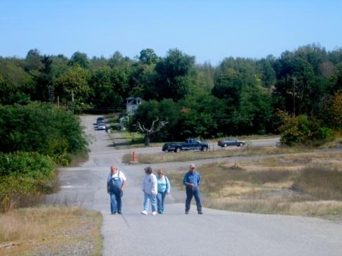 Tourists, Centralia, 9-20-08