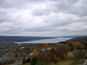 Cayuga Lake from McGraw Tower