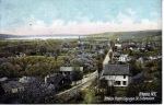 View of Early 20th century Ithaca. Hugh C. Leighton Co.
