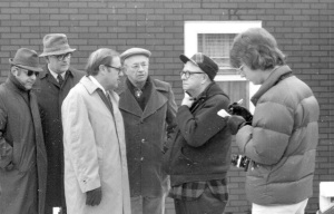 One of my early Centralia visits, 1977. That's Tony Gaughan second from right, and Charlie Kuebler next to Tony.